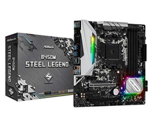 [Prime] Placa-Mãe ASRock B450M Steel Legend, AMD AM4, mATX, DDR4 | R$730