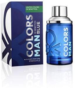 [PRIME] Perfume Benetton Colors Blue Man Edt 60mL   R$59