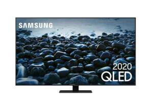 "Samsung Smart TV QLED 4K Q80T 55"" | R$4589"