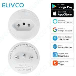 [Novos usuários] Tomada Smart Elivco 16A Padrão BR - R$10