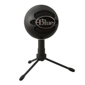 Microfone Condensador USB Blue Snowball Ice Preto | R$270