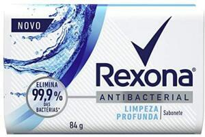 [PRIME] Sabonete em barra Rexona Limpeza profunda 84g | R$1,49