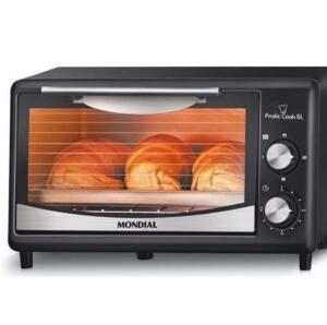 Forno Elétrico Mondial Pratic Cook FR-09 - 6L | R$170