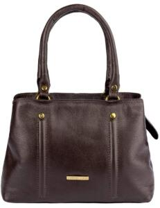 Bolsa pequena de mão em couro liso Melina R$32