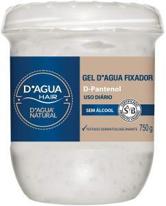 Gel D'agua Fixador, D'agua Natural, 750 g R$24