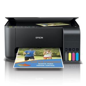 [SELECIONADOS] Impressora Multifuncional Epson EcoTank L3150 Wireless | R$987