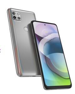 Smartphone Motorola Moto G 5G 128GB 6 GB RAM Tela 6.7 .- Prata Prisma | R$1699