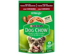 [APP + OURO] Ração úmida cão sachê Dog Show 100g R$1,60