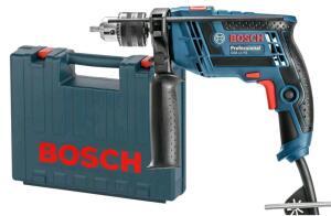 [magalupay R$262] Furadeira de Impacto Gsb13re 1/2' 650W 220V Maleta com Brocas - Bosch | R$333