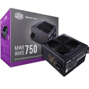 Fonte Cooler Master MWE 750 White V2, 750W, 80 Plus Standard | R$560
