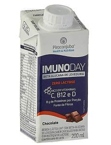 Bebida Láctea Piracanjuba Imunoday Sabor Chocolate Zero Lactose 200ml ( Min 10 + recorrência) | R$1,30