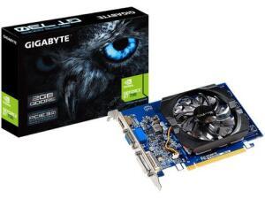 Placa de Vídeo Gigabyte GeForce GT 730 2GB - GDDR5 64 bits GV-N730D5-2GI (rev. 2.0) | R$408