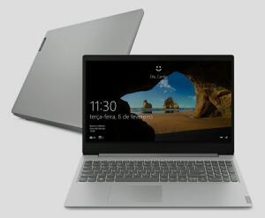 "[APP] Notebook Lenovo Ideapad S145 AMD Ryzen 5 8GB 1TB W10 15,6"" Prata | R$2.998"