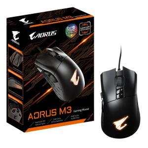 Mouse Gamer Gigabyte Aorus M3 6400 DPI RGB USB | R$175