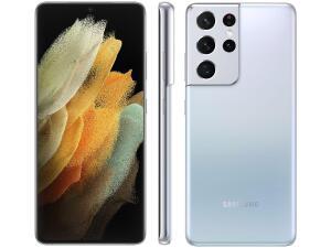 (Selecionados + APP + Super Cashback AME) Samsung Galaxy S21 Branco | R$2431
