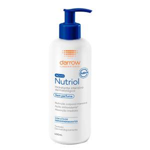 Loção Hidratante Darrow Nutriol 400 ml - Sem Perfume | R$51