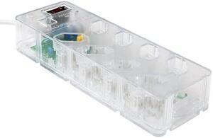 [Prime] iCLAMPER Energia 8 - Transparente | R$90