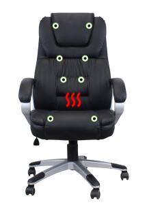 Cadeira com Massagem e Aquecimento Presidente Luxo | R$838