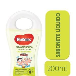 Sabonete liquido huggies cabeça aos pés | R$6