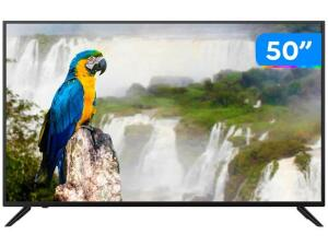 "Smart TV 4K HQLED JVC 50"" Android | R$1999"