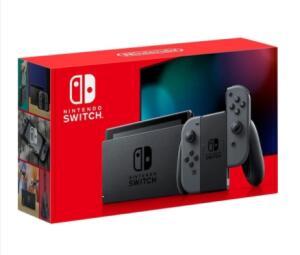 [App] Console Nintendo Switch 32gb + Gray Joy-Con | R$2187