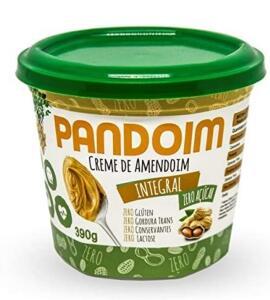 [PRIME] Pandoim Integral Creme de Amendoim Zero Açúcar 390g | R$12