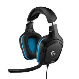 Headset Gamer Logitech G432 7.1 Som Surround, Drivers 50mm | R$350