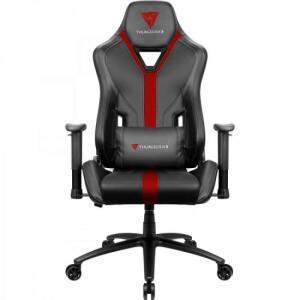 Cadeira Gamer YC3 Preta/Vermelha THUNDERX3 | R$1472