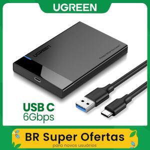 (Primeira compra) Case 2.5 HD Ugreen - R$ 12