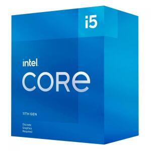Processador Intel Core i5 11400F 2.6GHz (4.4GHz Turbo), 11ª Geração, 6-Cores 12-Threads, LGA 1200 | R$ 1.159
