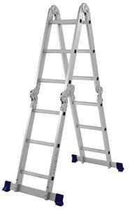 Escada Multifuncional 4x3 12 Degraus Mor | R$365