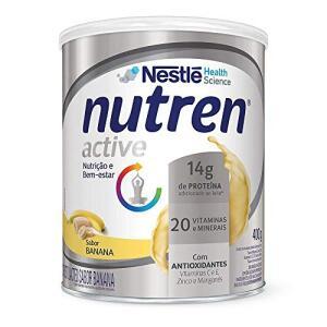 Suplemento Alimentar, Nutren Active, Banana, 400g R$25