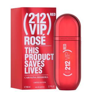 Perfume 212 Red VIP Rose Carolina Herrera Feminino Eau de Parfum R$353