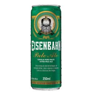 Cerveja EISENBAHN Pale Ale Puro Malte Lata 350ml | R$2,31