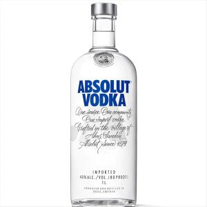 Vodka Sueca Absolut Original - 1L | R$56