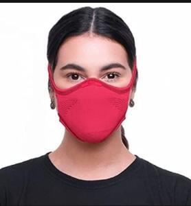 Máscara Knit Fiber somente cor rosa. TAM. M e G | R$40
