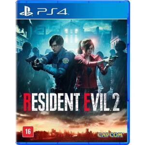 Game Resident Evil 2 Br - PS4 | R$64