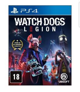 (APP+ novos usuários) Jogo Watch Dogs: Legion - PS4 | R$80