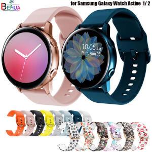 Pulseira de silicone original 20mm para smartwatch samsung galaxy | R$0,06