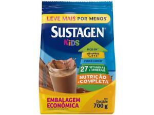 [C.Ouro+magalupay R$79] [06 unid] Comp. Alimentar Infantil Sustagen Kids 700g - Chocolate | R$126