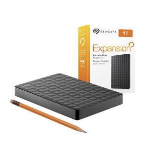 HD Seagate Externo Portátil Expansion USB 3.0 4TB Preto   R$570