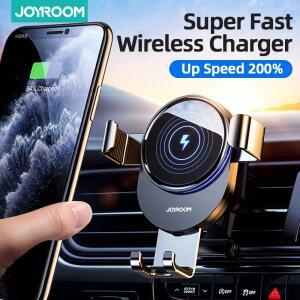 Suporte de Telefone para Carro com Carregador sem fio | R$122