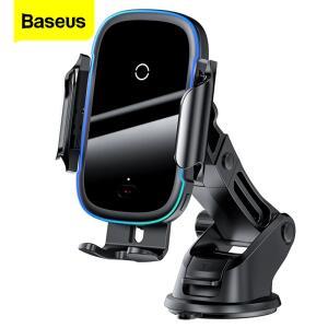 Baseus qi carregador de carro sem fio para iphone 11 samsung xiaomi 15w