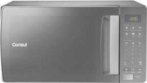 [R$ 530 com cashback] [220V] Forno Micro-ondas Consul 32 Litros, 900W, Cinza CMS45AR | R$ 649