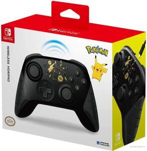[INTERNACIONAL] Controle Nintendo Switch Wireless HORIPAD (Pokemon: Black & Gold Pikachu) | R$226