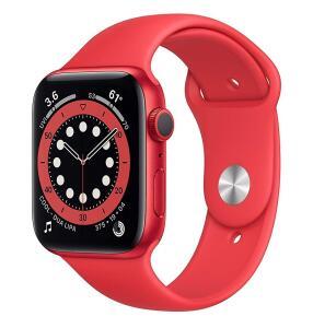 Apple Watch Series 6 44mm vermelho   R$3.050