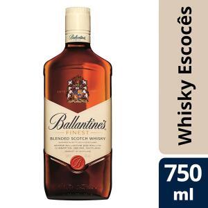 [Regiões selecionadas] Whisky Escocês Ballantine's Finest - 750ML | R$50