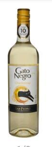 (LEVA 2 PAGA 1, 49,90) Vinho Branco Seco Gato Negro Chardonnay 750ml | R$25