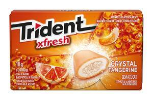 Gomas de Mascar Carteira tangerina Trident 18g (Min.2) | R$2,4