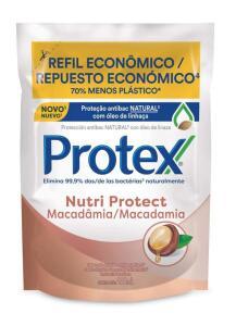 (PRIME + RECORRÊNCIA) Sabonete Protex Nutri Protect Macadâmia 200mL Refil | mín 2 | R$3,83